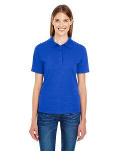 Ladies' 6.5 oz. X-Temp® Piqué Short-Sleeve Polo with Fresh IQ