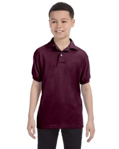 Youth 50/50 EcoSmart® Jersey Knit Polo