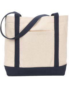 Ensign's Boat Tote Bag