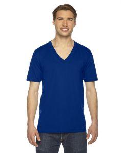 Unisex Fine Jersey Short-Sleeve V-Neck T-Shirt