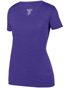 Ladies' Shadow Tonal Heather Short-Sleeve Training T-Shirt