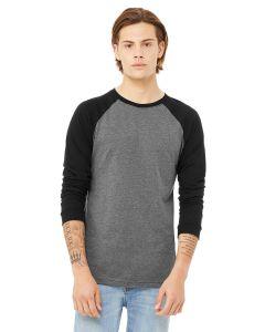 Men's Jersey Long-Sleeve Baseball T-Shirt