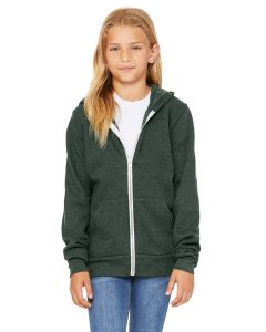 Youth Sponge Fleece Full-Zip Hooded Sweatshirt