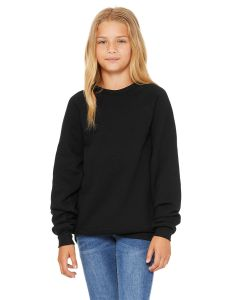 Youth Sponge Fleece Raglan Sweatshirt