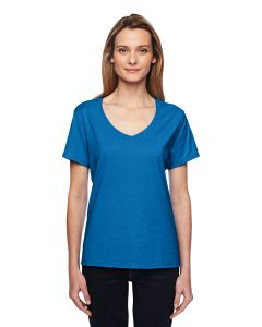 Ladies' 4.5 oz. X-Temp® Performance V-Neck