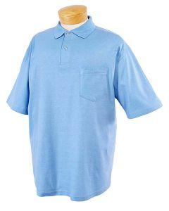 Adult SpotShield™ Pocket Jersey Polo