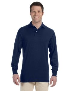 Adult SpotShield™ Long-Sleeve Jersey Polo