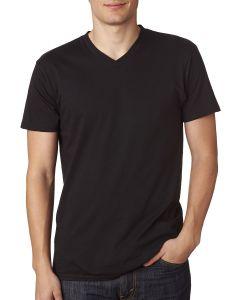 Adult 4.5 oz., 100% Ringspun Cotton nano-T® V-Neck T-Shirt