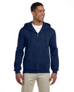 Adult Super Sweats® NuBlend® Fleece Full-Zip Hooded Sweatshirt