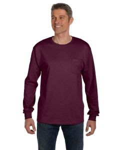 Men's 6 oz. Authentic-T Long-Sleeve Pocket T-Shirt