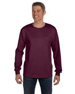 Men's 6 oz. Authentic-T Long-Sleeve Pocket T-Shirt
