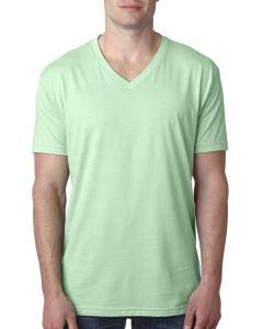 Men's CVC V-Neck T-Shirt