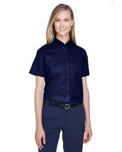 Ladies' Optimum Short-Sleeve Twill Shirt