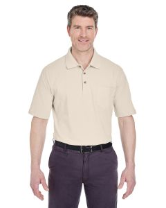 Adult Classic Piqué Polo withPocket