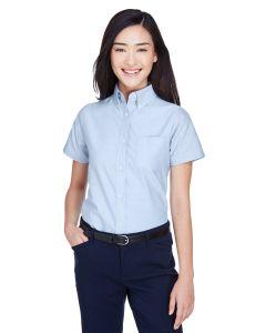 Ladies' Classic Wrinkle-Resistant Short-Sleeve Oxford