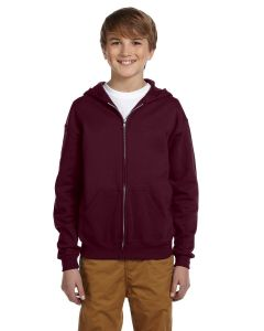 Youth NuBlend® Fleece Full-Zip Hooded Sweatshirt