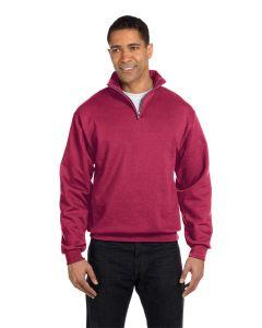 Adult NuBlend® Quarter-Zip Cadet Collar Sweatshirt