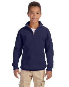 Youth NuBlend® Quarter-Zip Cadet Collar Sweatshirt