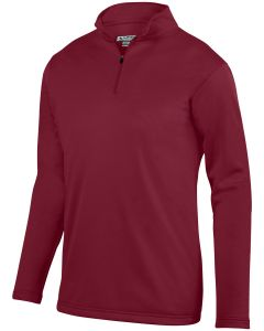 Adult Wicking Fleece Quarter-Zip Pullover