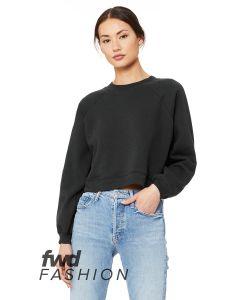 FWD Fashion Ladies' Raglan Pullover Fleece
