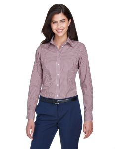 Ladies' Crown Woven Collection® Gingham Check