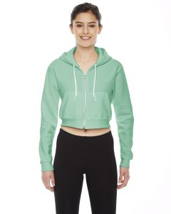 Ladies' Cropped Flex Fleece Zip Hoodie