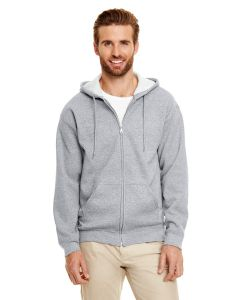 Adult Heavy Blend™ 50/50 Full-Zip Hooded Sweatshirt