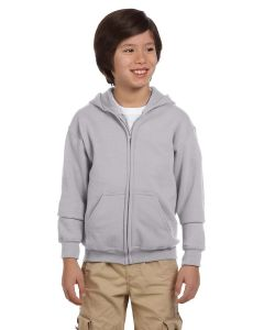 Youth Heavy Blend™ 50/50 Full-Zip Hooded Sweatshirt