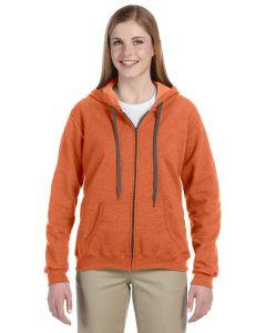 Heavy Blend™ Ladies' 8 oz. Vintage Classic Full-Zip Hooded Sweatshirt