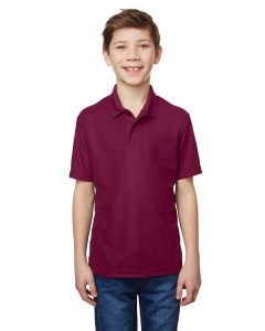 Performance® Youth 5.6 oz. Double Pique Polo