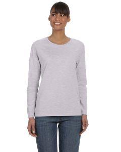 Ladies' Heavy Cotton™ Long-Sleeve T-Shirt
