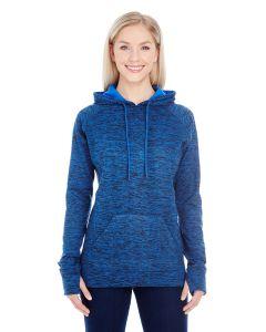 Ladies' Cosmic Contrast Fleece Hooded Sweatshirt