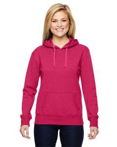 Ladies' Glitter French Terry Hooded Sweatshirt