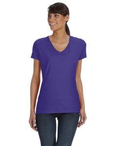 Ladies' HD Cotton™ V-Neck T-Shirt