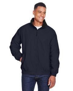 Adult Fleece-Lined Nylon Jacket
