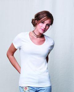 Ladies' Modal Triblend Scoop T-Shirt
