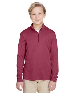 Youth Zone Sonic Heather Performance Quarter-Zip